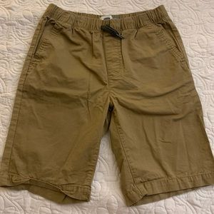 Old Navy Boys Khaki Shorts Size XL EUC
